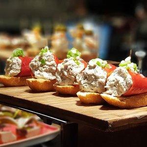 Pintxos in San Sebastian  #clozette #foodspotting #iweeklyfood #fooddaddict #foodgasm #foodpic #sginsta #sgeats #foodshare #nomnom #igersgs #foodporn #yummy #foodsg #burpple #sgfood #sgfoodbloggers #sgfoodies #igsgfoodies #pintxos #sansebastian #spanishfood