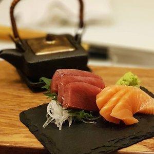 Tasmanian Salmon & Akami at Ichida Japanese Dining  #clozette #foodspotting #iweeklyfood #fooddaddict #foodgasm #foodpic #sginsta #sgeats #foodshare #nomnom #igersgs #foodporn #yummy #foodsg #burpple #sgfood #sgfoodbloggers #sgfoodies #igsgfoodies #japanesefood #sushi #sashimi