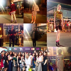 Still suffering withdrawals, post-#fashionstepsout. Some of my favourite looks for the night(I seem to gravitate to sparkly pieces, must have been a magpie in my past life), together with my stunning fellow #clozette ambassadors! Here's looking at each of you gorgeous ladies 😘 #fashion #fso2015 #lookbooksg #igsg