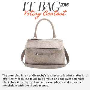 GIVENCHY | Pandora Medium Leather Shoulder Bag