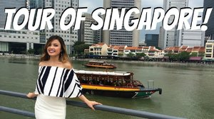 SINGAPORE TOUR | River Cruise + Walking Around China Town! The Travel Breakdown - YouTube