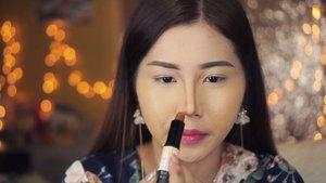How to contour your nose with @nyxcosmetics_indonesia wonder stick! . @indobeautygram @indovidgram @tampilcantik #tampilcantik #ivgbeauty #indobeautygram #clozette #clozetteid #beautyjunkie #beautyjunkies #instamakeupartist #makeupporn #beautyaddict #motd #makeuptutorial #beautyenthusiast  #makeupjunkie #makeupjunkies #beautyvlogger #wakeupandmakeup #hudabeauty #featuremuas #undiscovered_muas #hypnaughtymakeup