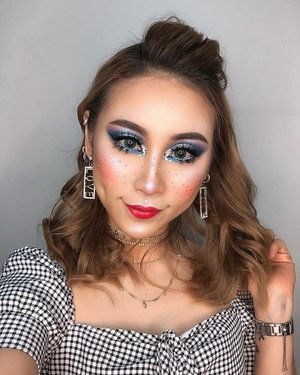 Releasing my inner Drag Queen but still want to be cute 💁🏼‍♀️ Thanks to @missfamenyc for teaching us on her Master Class in Singapore . . . Key Products: 💖 @nyxcosmetics_sg Ultimate Shadow Palette in Ash; Powderpuff Lippie in Boys Tears; Candy Slick Glow Lip Color in Sugarcoated Kiss; Liquid Sued in Little Denim Dress; White Liquid Liner; Retractable Eye Liner in White; Duo Chromatic Illuminating Powder in Twilight Tint;High Definition Blush in Summer 💖 @makeupforeversg Base Lissante Smoothing Primer 💖 @toofaced Born This Way Foundation in Porcelain 💖 @stilacosmetics Glitter & Glow Liquid Eye Shadow 💖 @benefitcosmeticssg Brow Contour Pro in Brown Medium; Hoola Bronzing Powder; Hoola Contour Stick 💖 @tartecosmetics Tarteist Pro Lashes in Goddess; Tarteist Pro Lash Adhesive; Tarteist Double Take Eyeliner; Light Camera Lashes 4-in-1 Mascara; Shape Tape Concealer in Light Sand 💖 @fentybeauty Pro Filt'r Setting Powder in Lavender 💖 Hair: @glampalmsg GP201BL . . . #ladies_journal #makeup #makeuptransformation #dragqueen #tarteist #benefitcosmetics #glam #shapetape #fentybeauty #makeupforever #nyxcosmetics #toofaced #stillacosmetics #selfie #benebabes #clozette #clozetteid #motd #mua #makeupartist #livingdoll #doll