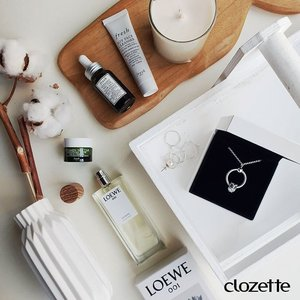 Keeping it classy for the weekend with @freshbeauty, @theofficialpandora and a spritz of freshness from @loewe_perfumes. #Clozette #ClozetteSHOTS #freshbeauty #WhatDoYouLove #freshbeauty