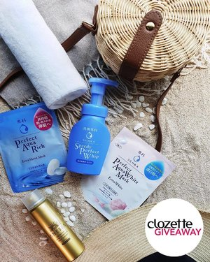 #ClozetteGiveaways: Arm yourselves this everlasting summer! We're giving away 3 sets of Senka skincare goodies and a super cute woven bag to go worth MYR200. Want to win one?