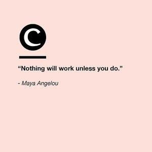 Go after your goals!💪 #Clozette #ClozetteQuotes
