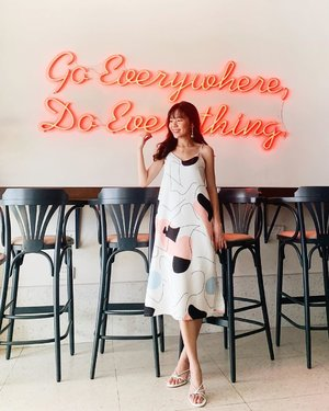 Go everywhere, do everything ☺️✨ // wearing @neonmello #neonmello
