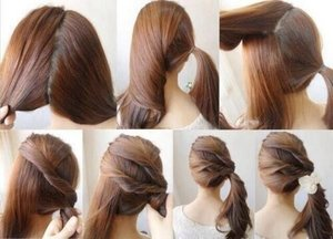 Another way to tie your hair