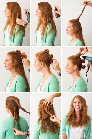 Hair problems? No more!  With these simple steps ypu can  have a stylish hair.