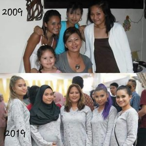 Mummy and her girls #10yearchallenge #love #instagood #photooftheday #fashion #clozette #clozetteco #beauty #makeup #picoftheday #instastyle #instadaily #followme #beauty#beautyblog #beautyblo99er #makeup #makeupmafia #makeupbyme #makeupaclclict  #makeupartist #mua #vegas_nay  #morphegirl #huclabeauty #instamakeup  #makeupartistsworlclwicle #clressyourface #sgmakeup #nikkietutorials #sgbeauty