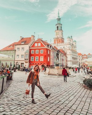 Did a 1 day pit stop at #Poznan and was charmed by this little city. #EstherwandersxPoland