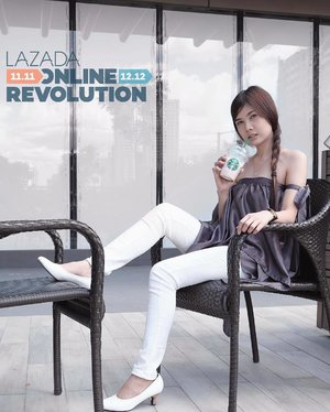 GIVEAWAY ALERT ✨ Are you ready for ONLINE REVOLUTION? Mark your calendars, because the biggest online shopping sale in the Philippines will start this November 11.  Join the #LazadaForAll contest. 1. Regram this post. 2. Go to the Lazada app & choose the item you want to win. 3. Post a photo of yourself showing the item in Lazada's app. 4. Use the hashtags: #LZDRevolution and #LazadaForAll 5. Ten lucky winners will receive their dream gift for Christmas. 6. Terms and Conditions apply. @lazadaph @clozetteco #clozette