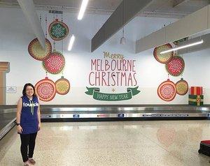 Reached Melbourne Airport safely 🤗 #10thDec15 #chewyjas #rydenxjastravel #ootd #chewyjasootd #clozette