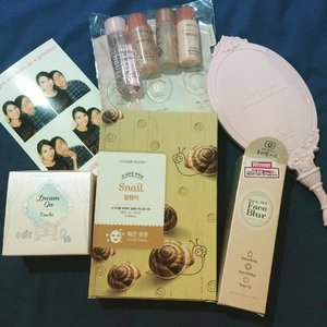 Latest purchases I did last Saturday at #etudehouse . Always a big fan of their products!