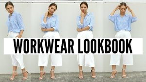 Workwear Lookbook | What to Wear to Work | Steal The Spotlight - YouTube