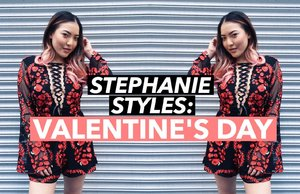 STEPHANIE STYLES: VALENTINE'S DAY | soothingsista - YouTube