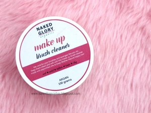 @nakedgloryph makeup brush cleaner review is now up on my blog  http://karenlizescobar.blogspot.com/2017/09/review-naked-glory-ph-makeup-brush-cleaner.html . . . #clozette #brushcleaner #nakedgloryph