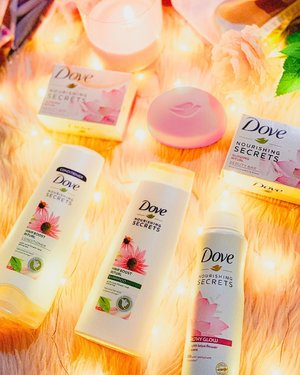 Bath time is sacred to me. It's the time I get to unwind and be lost in my thoughts 🛀🏻 As such, I only want to use bath products that'll help invigorate my skin and body! 🌿  Ever since I tried Dove's NEW Nourishing Secrets I feel more tranquil like every shower is a trip to the spa! 🌸 With @Dove Nourishing Secrets' gentle and natural ingredients that help moisturize and take care of my skin, coupled with it's super yummy scent, I can't help but look forward to my new everyday shower routine! ✨ Check my bio to purchase products from @dove #DoveNourishingSecrets #DovePH #sp