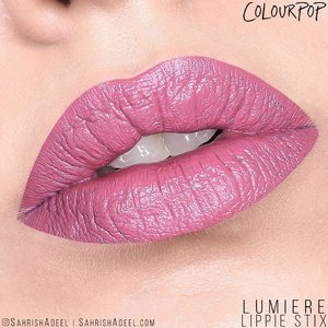 #Lumiere is probably one of the most swatched and raved shades by ColourPop. 😊 However, it looks completely different on my lips. 🤦🏽 I still like it though. 😍 This happens with me quite often and I always mention that I have pigmented lips so the lipstick shades look very different on me and I NEVER use concealers or base in my lip swatches so you get to see the true results. Plus, do we actually have time to put on concealer on our lips when we are rushing out the door everyday? 😝⠀ .⠀ This one is from the Matte range and was from @kathleenlights and ColourPop's collaboration.⠀ .⠀ Each Lippie Stix contains 1 gram of product for $5.5 USD and these are available in tons of shades. @ColourPopCosmetics ships worldwide for free for orders over $50 USD and they often have sales going on.⠀⠀ .⠀⠀ Do you own Lippie Stix by ColourPop Cosmetics? What do you think about this shade?⠀ .⠀⠀ #SahrishAdeel #NotSponsored #ColourPop #ColourPopCosmetics #ColourPopme #CrueltyFree⠀⠀