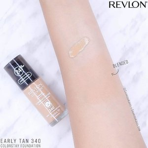 My first ever foundation by @Revlon and I am in love with the formula. 😍😍 I used this foundation for the first time a few months back, didn't feel like it was anything special plus I bought 1-2 shades darker than my skin tone UNTIL I decided to wear it on my son's aqeeqah two months back. 😀⠀ .⠀ Wore it for over 12 hours while entertaining guests, talking for most of the time, eating, laughing and going up and down the stairs a million time AND this foundation did not budge, at all. 😊😊⠀ .⠀ I have combination/oily skin type and this foundation works perfectly for me. It did get slightly shiny in a few hours but that is quite normal for my skin type. 🙈⠀ .⠀ The product comes in a pump bottle which is my favorite packaging for foundations. It has a creamy consistency and blends flawlessly with a brush and/or a makeup sponge. You can get sheer to full coverage with this formula. The bottle contains 30 ml of product and I got it for RM 35.80 from @WatsonsMy . They have 25% off sale going on for members right now which makes me remember that I should get membership too. 😋⠀ .⠀ Overall, I have no complains about this foundation except for one tiny issue. You need a primer on spots where you may have large pores if you are going for full coverage. I did not use one the first few times I tried the foundation and I could see a few pores showing on my upper lip area which were noticeable only if someone was too close to me (and that was my sister 🤣). Works well without a primer if you are going for sheer to medium coverage.⠀ .⠀ Have you tried this foundation? How was your experience?⠀ .⠀ #SahrishAdeel #SelfPurchased #revloncolorstay #Revlon @revlonmy #revlonuk @revlon_uk @revlonmiddleeast @revlon_pakistan #RevlonSG @revlonsg #WatsonsMalaysia #BeautyMyWay ⠀ .⠀ .⠀ .⠀ .⠀ .⠀ #FavfulSquad #MakeupReview #bbloggersmy #beautyblogcoalition #beautybloggermalaysia #bloggermalaysia #bloggerslahore #butterflymsia #clozette #fiercesociety #makeupmalaysia #makeuppakistan  #pakistanbeautysociety #pakistanibeautyblogger #pakistaniblogger #pakistaniinfluencer #shopstylecollective @shopstyle #makeupcantik #makeupswatch #MakeupSwatches #armswatch