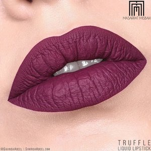 I don't have many maroon and purple toned lipsticks but if I had to pick my favourite from those tones, I would pick Truffle by @masarratmakeup 😍😍⠀ ⠀ This liquid lipstick has a beautiful formula and I cannot wait to get more shades from the range. ❤️⠀ ⠀ An in-depth review with arm and lip swatches is up on the blog. Link is in bio if you are interested in that. 😁⠀ ⠀ #SahrishAdeel @SahrishAdeel #MasarratMakeup #SelfPurchased⠀ ⠀