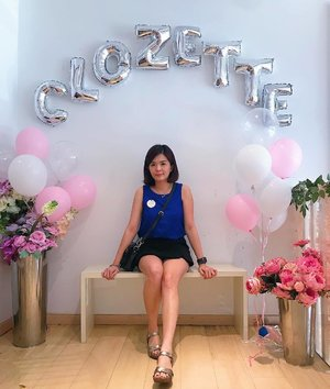 A #throwback photo of myself at @thehappcafe for #clozetteteaparty2019. I had so much fun chitchatting and meeting new friends. 😊 . P/s: My hair is getting longer now 😬 . #laneigemy #clozette #thehappcafe #ryohairmy #emmezingnails #casiogshock #ootd #kukkabyhapp