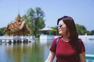 Another shot taken by sister @missjamieyeap at Bang Pa-In Summer Palace ❤️ . #bangpainpalace #portraitphotography #lifestylephotography #janiceytravels #janiceyinbkk #janiceyinayutthaya #wanderlust #thailand @tourismthailandkl