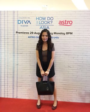 I'm here at How Do I Look Asia launch. What do you think of my hair makeover? #howdoilookasia #divatvasia #clozette #ootd