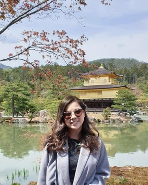 Missing Japan so here I am posting one of my favorite photos during my last trip to the land of the rising sun 🇯🇵 Love how my hair looks great here, used @liesephilippines Rose Brown, and it went well with the Golden Pavilion, and fall colors! ❤  Dreaming of another Japan trip, hopefully to Tokyo! @liesephilippines is actually giving away a trip to TOKYO, and you've still got a few weeks to join!!! Mechanics:  1. Buy any Liese participating products except Rose Tea Brown shade, with promo sticker, at any participating outlets  2. Every purchase of Liese in Milk Tea Brown, Platinum Beige, Blaune Rose Brown and Golden Brown shade will be counted as two (2) raffle entries. 3. Submit the proof of purchase (a copy of the receipt and the product box with signature on it) including your contact details such as name, address, birthday and contact number to liesephilippines@gmail.com.  Submit your entries now and make your #TravelGoals come true with Liese!  #BuyandWinwithLiese #clozette #travelootd #onigiPHY #phyphytravels #kinkakujitemple #goldenpavilion #japan #osaka #tokyo #kyoto #discoverkyoto