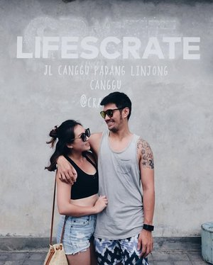 Yup, life's crate! ⠀⠀⠀⠀⠀⠀⠀ ⠀⠀⠀⠀⠀⠀⠀ Thanks for appearing @mr.jalee, we finally have couple pics. 🙃 . . . . . . #beauty #fashion #bali #sg #canggu #indonesia #OOTD #style #islandgirl #clozette #StyleInspo #WIWT #cratecafe