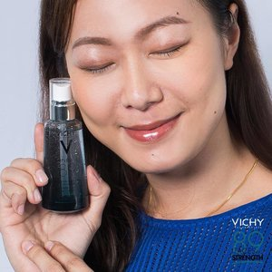 """Join me in my 7 days challenge of using Mineral 89 for bouncy, glowy and stronger skin! Do you know that Minèral 89 Skin Fortifying Daily Booster is makes by 89% if Vichy Mineralizing Water! It contained 15 Minerals & Natural Origin Hyaluronic Avid! I'm so excited to see the result after 7 days! . Get samples at any Vichy counters in my link in bio - bit.ly/2OYWrfI . """"89 Faces of Stronger Skin, 1 Daily Dose of Strength. Start your Stronger Skin start with us today."""" #SkinLivesStronger #Vichy89FacesofStrength #VichySG"""