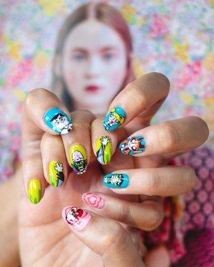 G U R L P O W E R 🥳🤩😎🌈✨ | Featuring the cutest Powerpuff nail set c/o @twentynailssg. Who else loves Mojo Jojo? 🙋🏻♀️🙋🏻♀️ . . . . #ootd #clozette #coordinatesoffrisbee #lookbook #lookbooksg #igers #igsg #sgblogger #fashionblogger 📷: @vallence.h