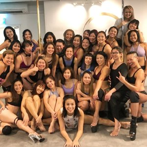 Concluded another term of learning and dance indulgence with a grateful and loving heart! 💕 Thankful to be able to learn from and with all the awesome dancers and tricksters amongst us, especially those who helped me
