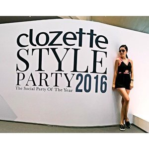 Morning rehearsal at #ClozetteStyleParty this morning ...😍 Feeling a strong surge of emotions because Clozette turns 5 and it means a lot to have a big show like this! Kudos to my ex-colleagues for working relentlessly to make this show happen!  Show starts 5pm at #SuntecCity, North Atrium (near Mporium/Reebonz/Tower1&2) ✌🏻️ #Clozette #fashionshow #runway