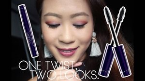 One twist, two looks. Amazingly long lashes done in 60s with the @byterryofficial #LashTwistBrush mascara. It lengthens and volumises which is awesome but I wish that it could hold my curls too. Those stick straight Asian lashes are such a pain to manage! Watch the video to discover the cool TWIST effect on the brush! 🖌 . . #byterrysg #ByTerry #Clozette #discoverunder100k #makeuptalk #makeuppicks #makeuplover #makeupjunkie #makeupaddict #beautyaddict #makeupobsessed #beautyjunkie #wakeupandmakeup #slave2beauty #instabeauty #instadaily #maquillaje #kosmetik