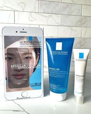 As I enter my third trimester, I've experienced a few hormonal breakouts around my jawline & find this duo really useful in helping me control those pimples! 👉🏻There is also the Effaclar Spotscan, a acne-prone skin diagnosis you can do at home by La Roche Posay Sg (https://sg.spotscan.com)... ❤️
