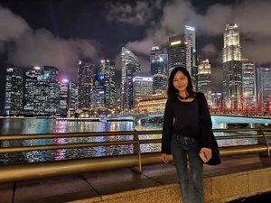 #huawei camera, ok mou? 😆 • • • #carinnxtravel #singapore #marinabaysands #throwback #clozette #nightview