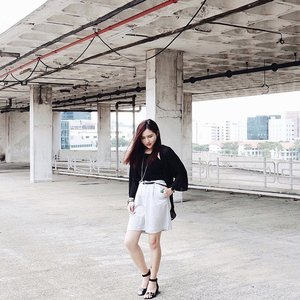 Some days, you let those monsters in your mind win. #ootd #throwback #clozette #stylexstyle
