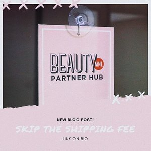 Have you tried BeautyMNL's newest shipping type? Check out my new blog post as I share my experience using it. Link on bio. 💕 #beautyctionary #blogger #beautymnl #blogreview #clozette #onlineshop