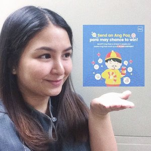 Share the luck this month by sending P1 Ang Pao to 2 of your friends (must be gcash user) and win up to P88,888 worth of Ang Paos everyday!  No GCash account yet? Visit bit.ly/registerviaIG to get started! 💙 #GcashAngPao #GCash #clozette #selfie