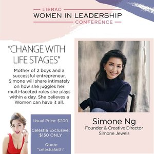 Listen to what a successful founder Simone Ng and mummy of 2 boys got share on