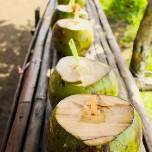 Refreshing real and super fresh buko juice after a full day of trek on an ACTIVE volcano! Felt kind of weird, actually.  #travel #travelbug #traveller #travelblogger #travelicous #culture #trulyasia #travelgram #instatravel #juliaantoinette #travelicious #travelbabe #traveladdict #travelinspo #travelinspiration #clozette #asia #philippines #tagaytay #mountain #trek #climb #volcano