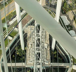 Sometimes a different perspective is all you need.  A different view from the Singapore Flyer.  #travel #travelbug #traveller #travelblogger #asia #singapore #clozette #travelicous #biggestferriswheelever #culture #trulyasia #travelgram #instatravel #juliaantoinette #travelicious #travelbabe #traveladdict #travelinspo #travelinspiration #citylife
