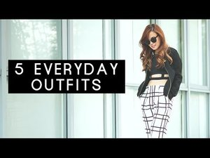 5 Everyday Outfits - YouTube