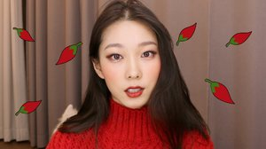 Red Hot Pepper Makeup Looks