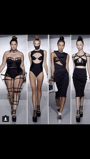 Plus sized models back!! Hurray   Plus you know how I love corsets