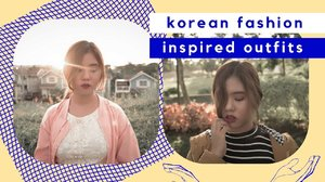 Korean Fashion Inspired Outfits | Andrea Ferma - YouTube