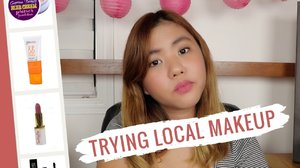 Trying Local Makeup (Philippines) - YouTube