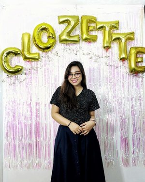 third time's the charm as they say and this year's celebration definitely hit the homerun. thanks to everyone who joined us earlier! all my love to y'all~~ tag me in all your #ClozetteParty2019 snaps so that i can give them a ❤!!!!! 🥰😋 #Clozette