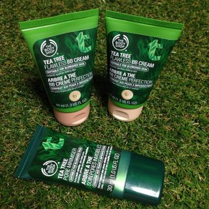 If you are a Tea Tree product lover like me, you would want to check out the new The Body Shop Singapore Tea Tree BB Cream & Pore Minimiser http://cassansaurus.blogspot.sg/2014/07/the-body-shop-tea-tree-flawless-bb.html